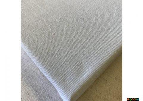 Холст натуральный, холст синтетический, ткани для декораций