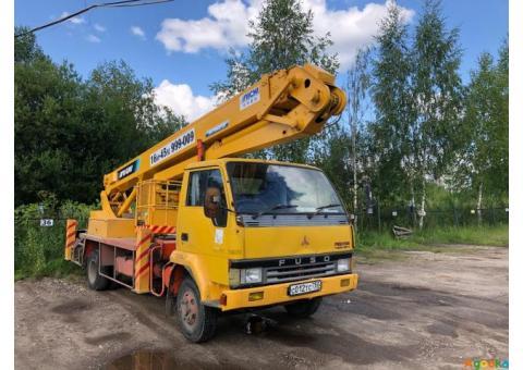 Услуги, аренда автовышки 14 м - 45 м в Ярославле и области