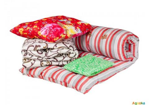 Матрасы, одеяла, подушки оптом.